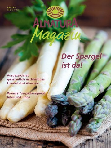 Alnatura Magazin April 2021