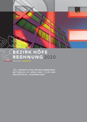 Botschaft Rechnung 2020