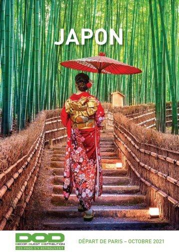 Présentation plaquette JAPON