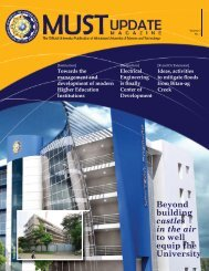 MUST Update Vol. 2, No. 1 - Mindanao University of Science and ...