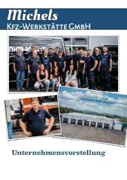 Michels KFZ-Werkstätte GmbH Unternehmensvorstellung 2020