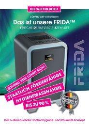 Informationsbroschüe Sicher & Sauber