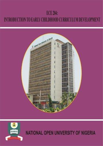 ece 204 - National Open University of Nigeria