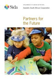 Partners for the Future - Sweden Abroad