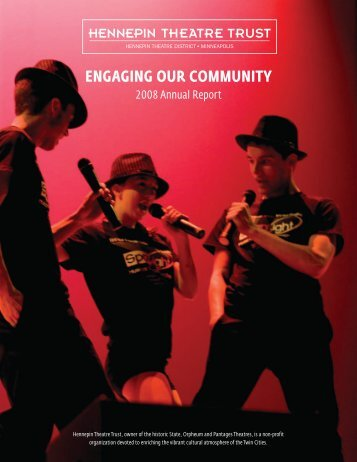 Engaging Our COmmunity - Hennepin Theatre District