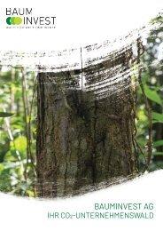 BaumInvest AG - Ihr CO2-Unternehmenswald