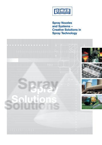 Spray Nozzles and Systems – Creative Solutions in ... - Lechler GmbH