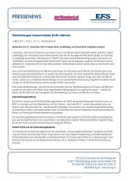 07/2012 - EFS Euro Finanz Service Vermittlungs AG