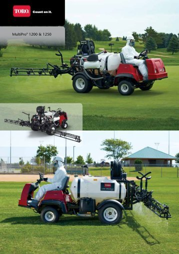 MultiPro® 1200 & 1250 - Parkland Products