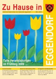 Siedlung Maria Theresia - Gemeinde Eggendorf