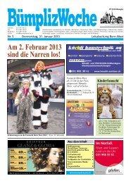 Ausgabe vom 31.01.2013