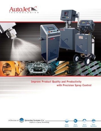 Advanced Spray Control - Spraying Systems Deutschland GmbH ...