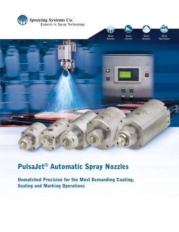 PulsaJet® Automatic Spray Nozzles - Spraying Systems ...