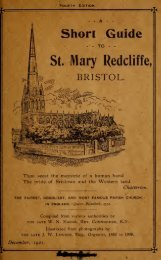 A Short Guide to St Mary Recliffe Nigel William Madan 1921