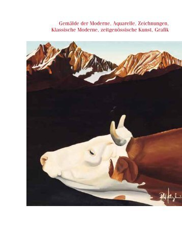 Gemälde der Moderne, Aquarelle, Zeichnungen, Klassische ...