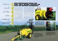 New John Deere Orchard Sprayer
