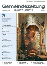 Gemeindezeitung Kastelruth - Ausgabe April 2011