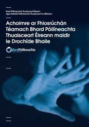 final pdf - domestic abuse thematic summary in irish