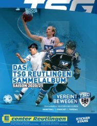 Stickerstars Album TSG 2020 Basketball Eishockey Fussball