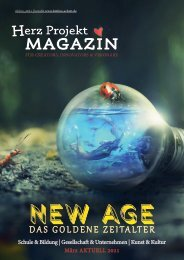 Herz Projekt Magazin #8- Ausgabe NEW AGE - Das Goldene Zeitalter März 2021