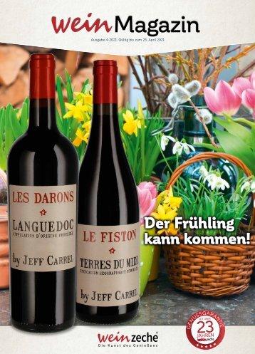 Weinzeche Weinmagazin 4_2021 – Die Kunst des Genießens