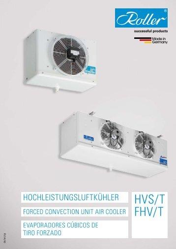 Roller - HVS/T / FHV/T