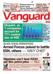 29032021 - Armed Forces poised to battle ESN, others — NAVY CHIEF