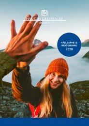 Hållbarhetsredovisning Haugen-Gruppen Sweden 2020