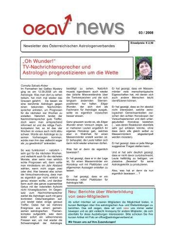 """""""Oh Wunder!"""" TV-Nachrichtensprecher und Astrologin ..."""