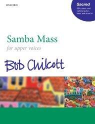 Bob Chilcott Samba Mass