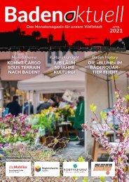 Baden aktuell Magazin April 2021