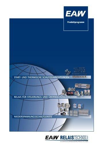 Produktprogramm - EAW-Relaistechnik
