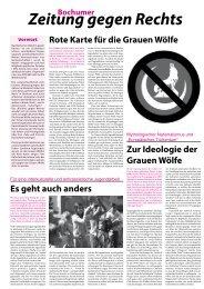 Zeitung gegen Rechts - und Jugendring Bochum e.V.