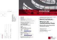 Alter(n) hat Zukunft – Bildung in der nachberuflichen ... - Fischer, Birgit