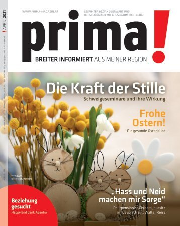 Prima Magazin - Ausgabe April 2021