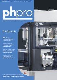 phpro – Prozesstechnik für die Pharmaindustrie 02.2021