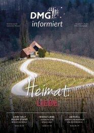 DMG-informiert 4/2020 // Heimat.Liebe.