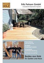 Bestes aus Holz für Haus und Garten