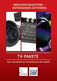 TV-PAKETE - Speakers Excellence