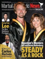 Martial Arts World News Magazine - Volume 21 | Issue 2