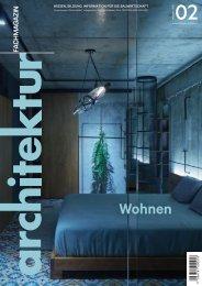 architektur Fachmagazin Ausgabe 2 2021