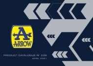 Arrow Product Catalogue n 039 - April 2021
