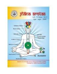 vol - 5; Issue 1 & 2 Apr - sept - 2009 - Techno Ayurveda