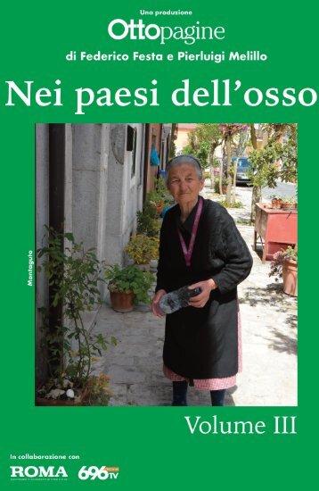 NEI PAESI DELL'OSSO volume 3