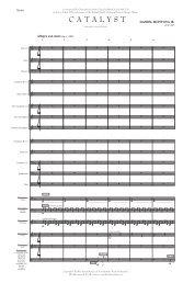 Catalyst - Score