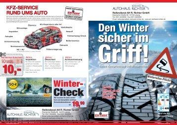 Winter- - Autohaus Reinhard Richter