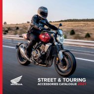 Street and Touring Tillbehörs katalog UK 2021