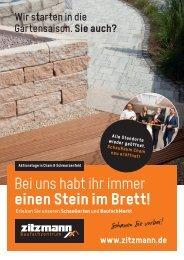 SchauGarten und BaufachMarkt erleben - Frühjahr 21