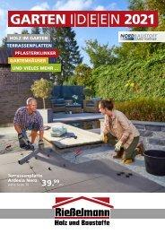 Gartenkatalog 2021 - Rießelmann