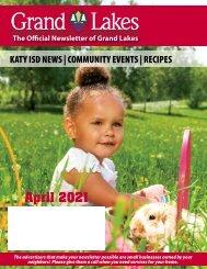 Grand Lakes April 2021